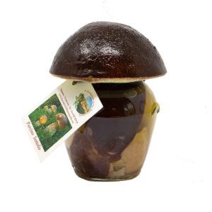 funghi porcini testa nera sott'olio