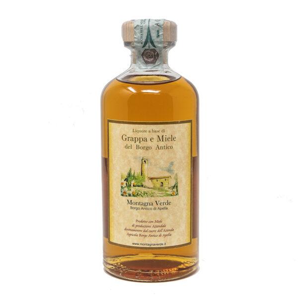 Liquore di Grappa e Miele