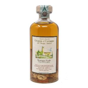 Liquore di Grappa e Castagne