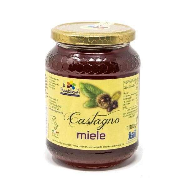 miele di castagno 1kg lunigiana bio