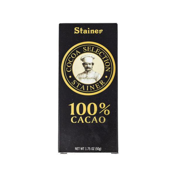 Stainer Cioccolato Fondente 100%