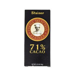 Stainer Cioccolato Fondente 71%