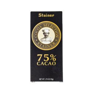 Stainer Cioccolato Fondente 75%
