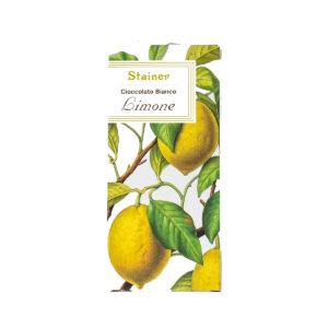 Stainer Cioccolato Bianco al Limone