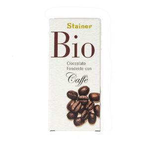 Stainer Cioccolato Bio Fondente con Caffè