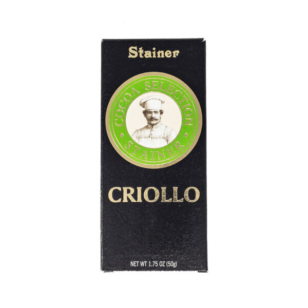 Stainer Cioccolato Fondente Cacao Criollo