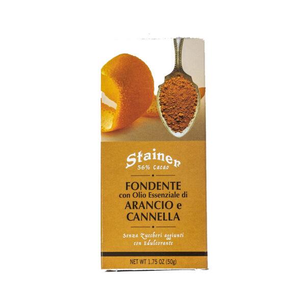 Stainer Cioccolato Fondente Arancio e Cannella