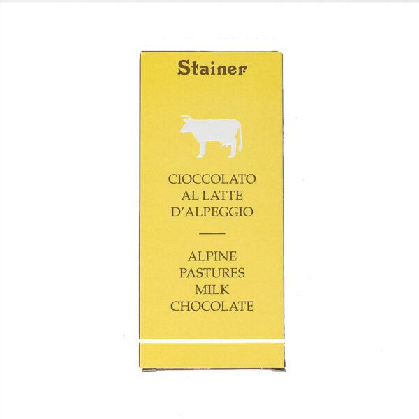 Stainer Cioccolato al Latte d'Alpeggio