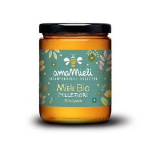 miele millefiori biologico
